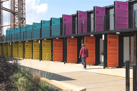 Up-cycled storage containers pop up in Regents Canal