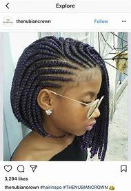 Cornrow Braids Hairstyles for Black Girls
