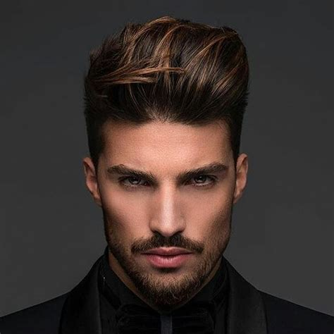 medium length hairstyles  haircuts  men
