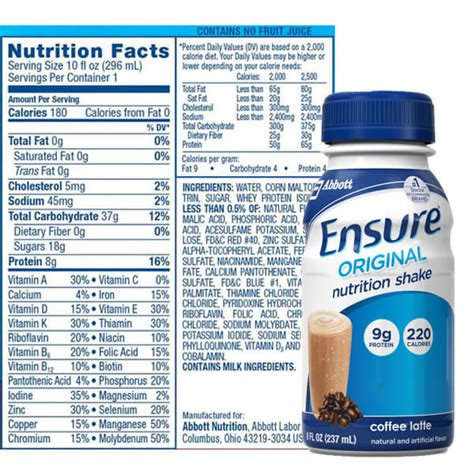 Ensure Review   Can These Nutritional Shakes Keep You Full On A Lcd?