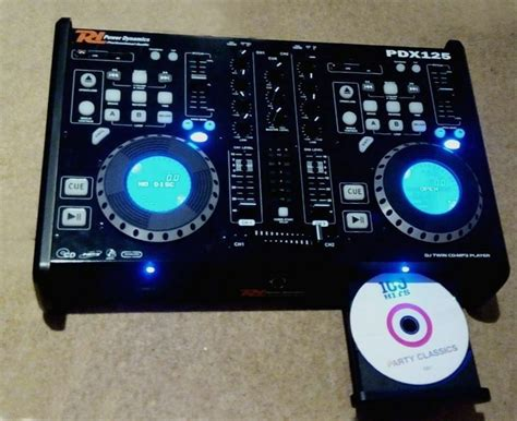 Power Dynamics Pdx 125 Dual Cd, Mp3, Usb Dj Decks With