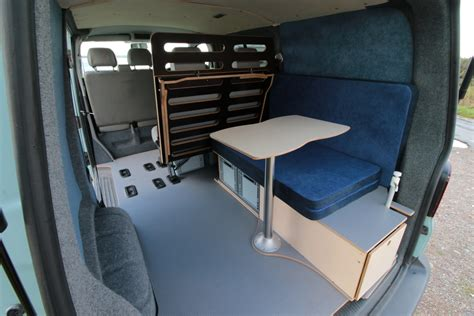 removable camper units  amdro vw   swb kombi jump