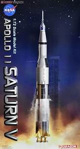Dragon Models Apollo 11 Saturn V Spacecraft 1/72 Building ...