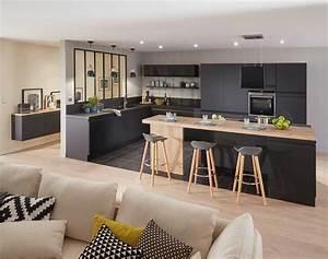 cuisine ytrac de lapeyre inspiration cuisine With awesome couleur de peinture pour une entree 13 cuisine ouverte sur salle salon et entree