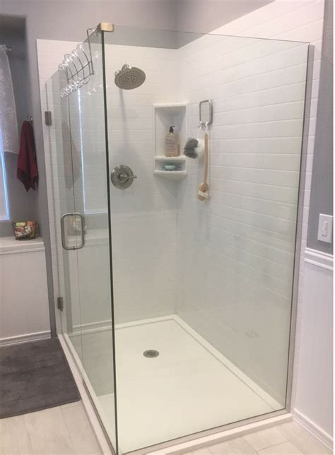 choose   shower base  shower floor pan