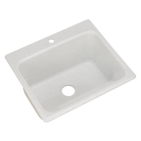 Thermocast Sink Home Depot by Thermocast Kensington Drop In Acrylic 25 In 1 Single