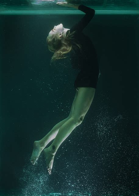 Underwater Model Portrait · Free photo on Pixabay