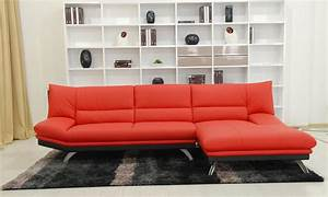Decorating ideas ultimate dark brown leather sofa with for Red and brown sectional sofa