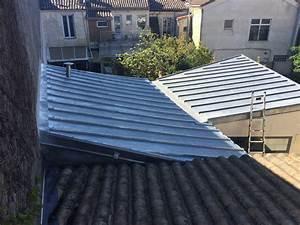 Rehausse Velux Toit Faible Pente : couverture zinc tasseaux bordeaux toitures 33 bordeaux gironde ~ Nature-et-papiers.com Idées de Décoration