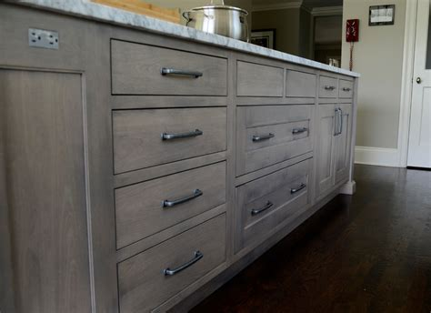 gray stained kitchen cabinets cabinet stain colors kitchen transitional with built in