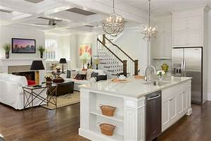 dark kitchen island chandelier mixed u shaped white pantry With kitchen colors with white cabinets with glowing glass candle holder