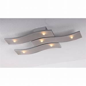Luminaire Design Led : beau plafonnier design led prestige compatible variateur 2500 lumen millumine ~ Teatrodelosmanantiales.com Idées de Décoration