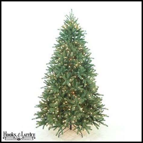 9 ft classic xmas tree artifical pine hooks and lattice