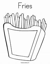 Coloring Fries Chips French Twisty Outline Noodle Twistynoodle Built California Usa Login Favorites sketch template