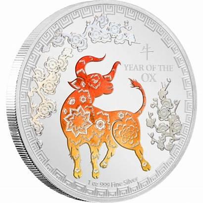Ox Lunar Coin Niue Oz Coins Mint