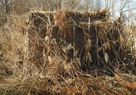 Duck Hunting Out Of A Boat Blind by How To Brush A Duck Blind