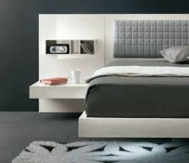 Bed Frame With Attached Nightstands by 25 Best Ideas About Modern Bed Designs On Pinterest