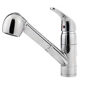 price pfister kitchen faucets polished chrome pfirst series 1 handle pull out kitchen