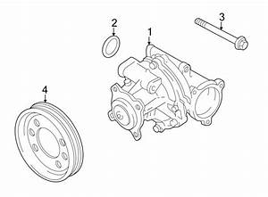 2003 Chevrolet Tracker Engine Water Pump Pulley  2 0 Liter