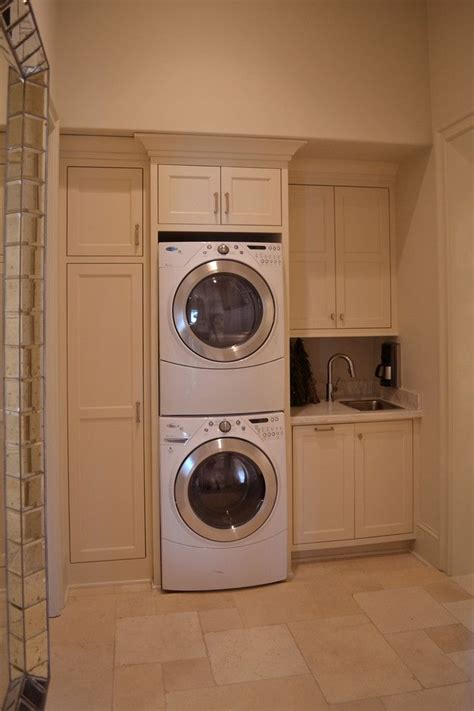 25 best ideas about washer dryer closet on