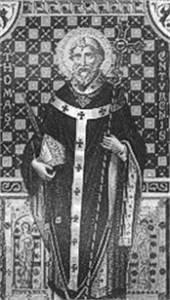 a year of prayer: 365 Rosaries: December 29: Saint Thomas ...