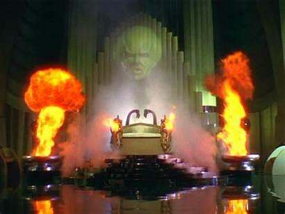 Wizard Oz Kansas Behind 1939 Matter Scenes