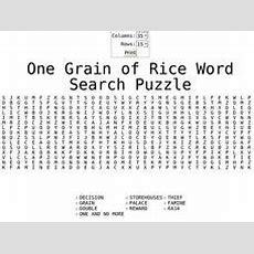 One Grain Of Rice Lesson Plans & Worksheets Reviewed By Teachers