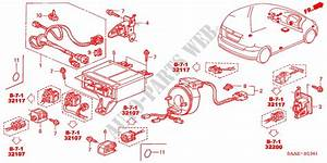 Srs Unit  Rh  For Honda Cars Jazz 1 4 Se 5 Doors 5 Speed