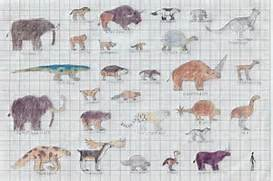 Ice Age bestiary part1...