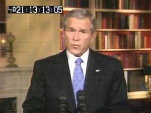Bush addresses nation on troop increase inIraq