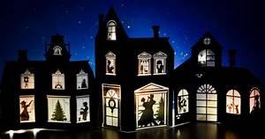 Paper Christmas Village Templates