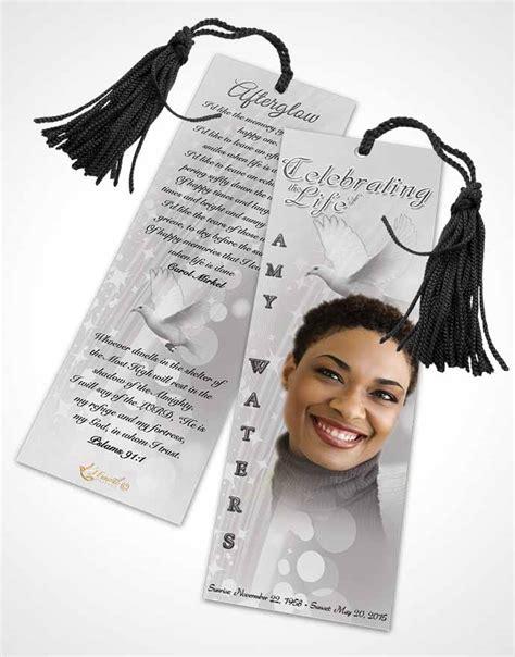 bookmark template  spirit black  white