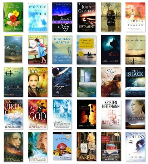 Best Selling Fiction Authors by Best Christian Fiction Books At Home