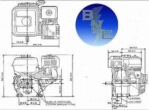Honda Horizontal Engine 6 5 Hp Ohv 5  8 U0026quot  X 2 16  Gx200