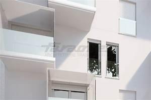 Parapetto in alluminio e vetro per finestre e balconi NINFA 190 by FARAONE design Nino Faraone