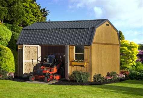 12x16 barn shed with loft 17 best images about backyard garden storage sheds on