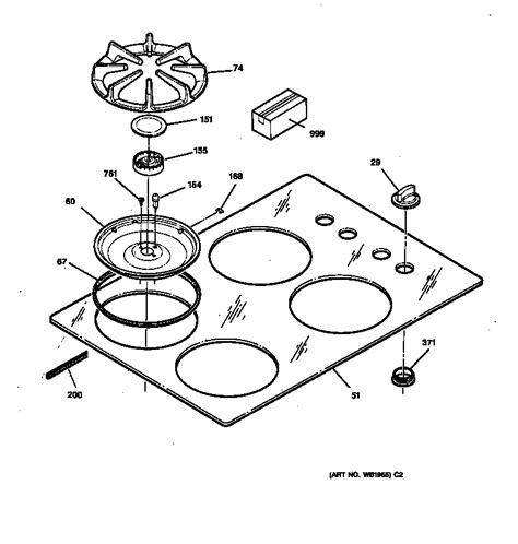 ge profile gas range parts diagram reviewmotorsco
