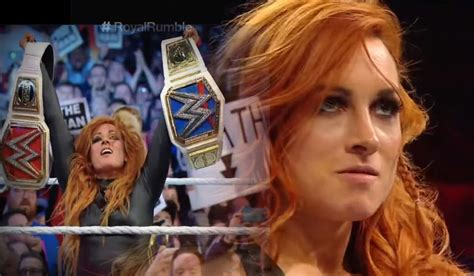 becky lynchs reactions  headlining wrestlemania