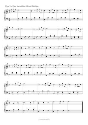The piano student piano sheet music and music lesson resources. Married Life (3) by Up Piano Sheet Music | Sheetdownload in 2020 | Sheet music, Piano sheet ...