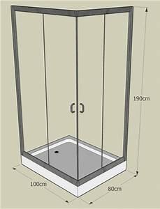 Cabine De Douche Angle : cabine douche angle alu verre et receveur ~ Dailycaller-alerts.com Idées de Décoration