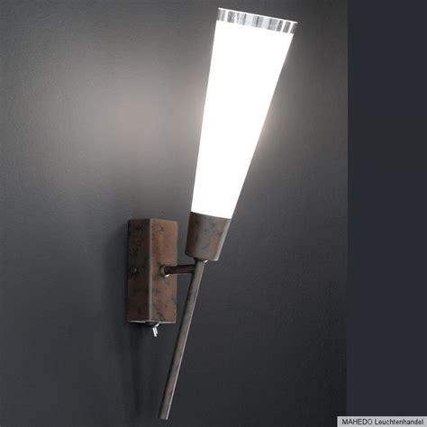 wandfackel wandleuchte wandlampe fackel iris halogen