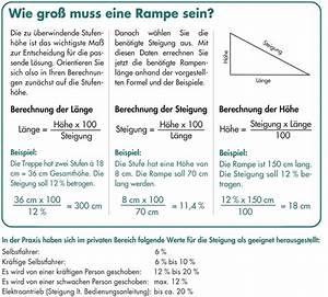 Rampe Berechnen : rampen fr hwald heilbehelfe ~ Themetempest.com Abrechnung