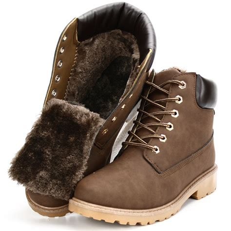 Aliexpress Buy Suede Leather Man Boot Winter Men