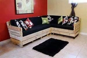 Bauanleitung Lounge Sofa : modelos de sof com pallet que voc vai amar ~ Michelbontemps.com Haus und Dekorationen