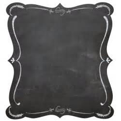 Chalkboard Frame Clip Art