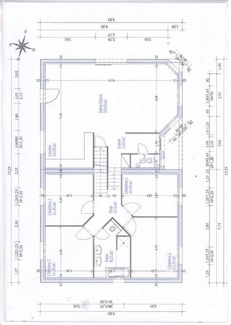 plan maison demi niveau 4 chambres avis conseil plan maison 1 2 niveau 120 m2 avec 4 chambres