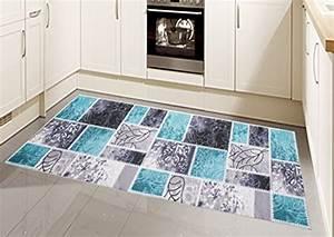 Teppich Modern Flachgewebe Gel Lufer Kchenteppich