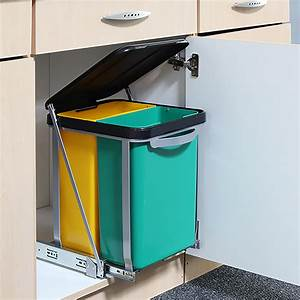 Mülleimer Küche Einbau : einbau abfalleimer m lleimer f r die k che 2 x 8l haushalt n tzliches ~ Markanthonyermac.com Haus und Dekorationen