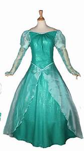 Disney Mermaid Ariel Princess Cosplay Costume Dress For ...