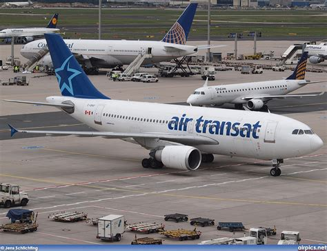 a310 300 air transat airpics net c gpat airbus a310 300 air transat large size